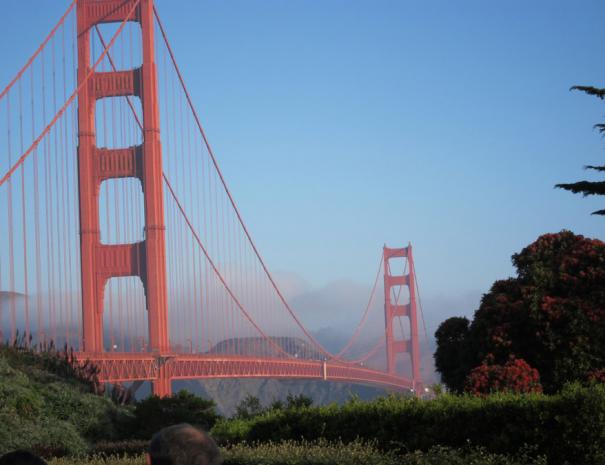 San Francisco Golden Gate Bridge on Tour